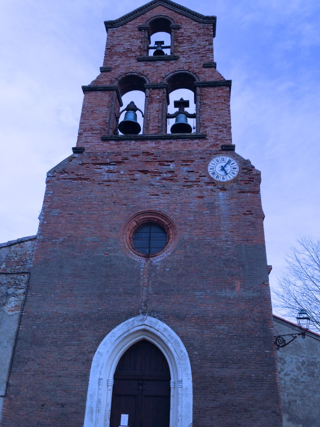 Church bells ringing and gratitude for those that built them...the Occitan People