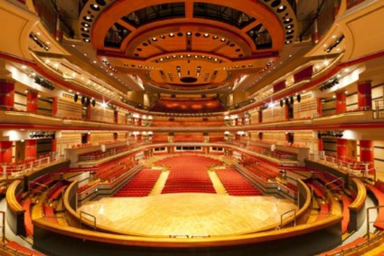 Owner description: Birmingham's world-famous acoustically refined 2262 capacity concert hall presents a diverse programme of jazz, world, folk, rock, pop and classical...