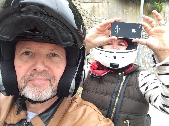 Motorbyke ride with Mr.Gooda